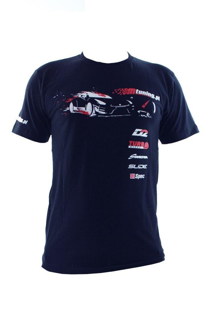 Koszulka T-Shirt MTuning Granatowa XXL - GRUBYGARAGE - Sklep Tuningowy
